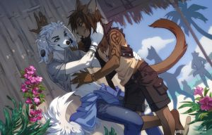 [c] Coff and Ruvishame by Melloque