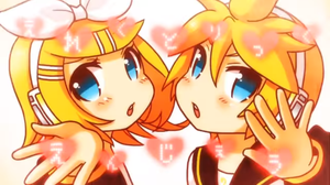 Vocaloid Electric Angel Kagamine Rin and Len Love by GABAGARB