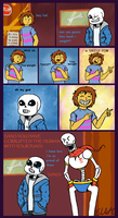 [UNDERTALE] Pun master in training by EeveeLover64