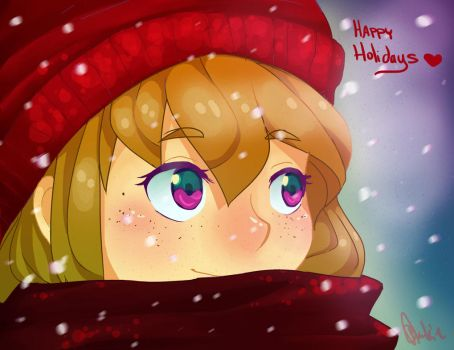 Happy Holidays! by blackie-tan