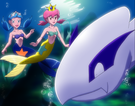 PokeMermaids'  Discovery by Severflame