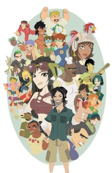 Total Drama Island Step 7 of 8 by chinaguy16