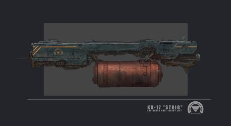 KV 17 STRIG freighter unit by AlcoholicHamster