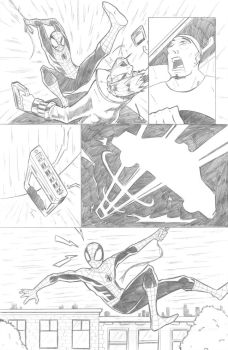 Ultimate Spiderman 112 (sample page 2) by ultimatejulio
