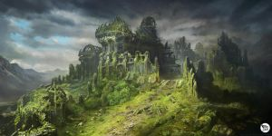 Armored Castle Ruin by M-Wojtala
