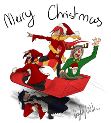 Merry Chrismtas! by Hayley-Wilson