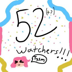 Thank you for 52 watchers!!!!!!!!!!!!!! by 1987pinkiepie