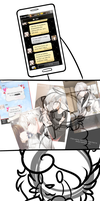 otome suffering (MYSTIC MESSENGER SPOILERS) by Fimblebee
