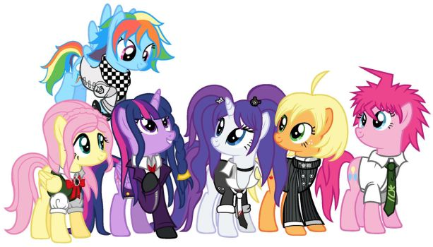 Mlp Cast as Danagrompa Characters by AlongComesMaryann