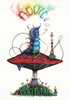 Advice From A Caterpillar by Simanion