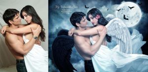 My Impossible  Love - Before and After by EstherPuche-Art