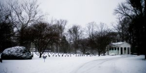 Winter Cemetery 2 by robertllynch