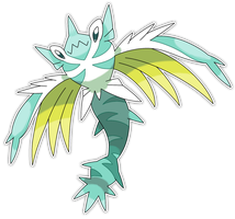 Hydralge, Hydra Fakemon by Smiley-Fakemon