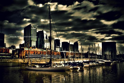 Puerto Madero by pincel3d