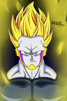 Perfect Cell redesign by HelvecioBNF