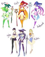 All Revised Designs by RikasWritings