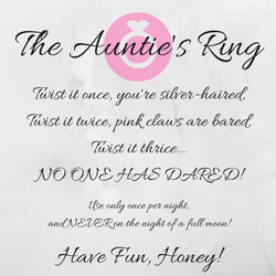 The Auntie's Ring - Prologue by BrotherWobbles