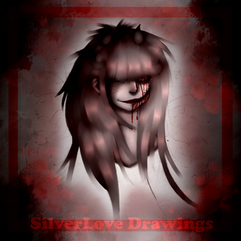 Drawing for Halloween (?) by SilverLove234