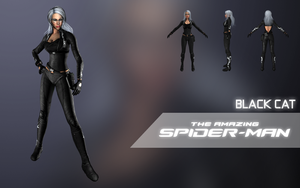 Black Cat (The Amazing Spider-Man) (update 1) by Citrus07