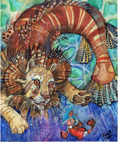 Lionfish tamer by Shadowind