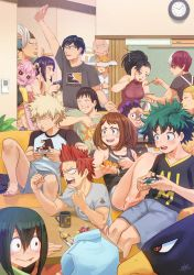 Class 1-A | Boku no Hero Academia Fanart by SteamyTomato