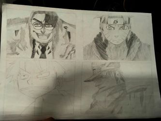 Some sketches by Tradicon666