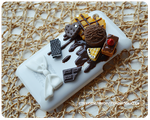 Chocolate Decoden iPhone Case by PeachMilktea