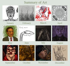 Art Summary 2013 by Echonyx