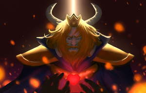 ASGORE by plastic-brain