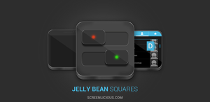Jelly Bean Squares by xNiikk