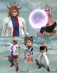 Soulcalibur V: Android 21 by LeeHatake93
