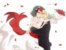 I love you [Evans Wedding] by aidmoon