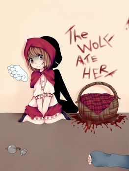 Reverse Little Red Riding Hood By Lunacybunny by lunacybunny