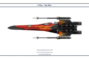 Fantasy 200 X-Wing Tiger by WS-Clave
