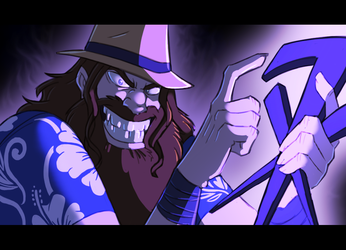 WWE: In the dark of the night by Oniwanbashu