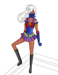 [WIP] Sailor Hakushi by Drakon-Aglaia