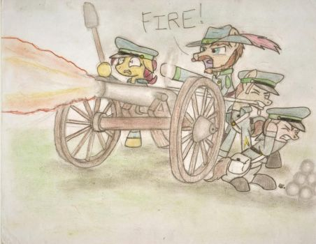 The Colts that wore the Green by BrogarArts