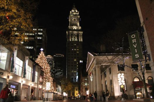 It's Christmas Time in Boston by magneticjade