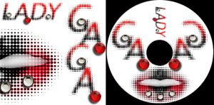 gaga cd by Goldphishy