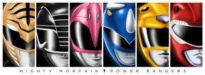 Mighty Morphin Power Rangers by WeaponXIX