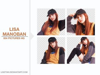 PACK PNG #12 // LISA (BLACKPINK) by Lisethh