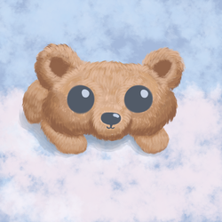Baby Angel Bear by GraphiteForest