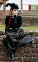 Dark Victorian Goth Stock 001 by MADmoiselleMeliStock