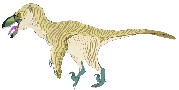 Rick the Utahraptor (gift art for MightyRaptor) by Patchi1995