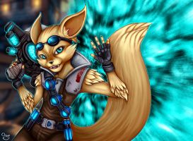 Pip from Paladins:Champions of Realm by ChiyoKyokane