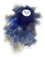 Ghost Owl by Calmality
