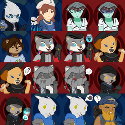 Icon Sheet! by TheYUO