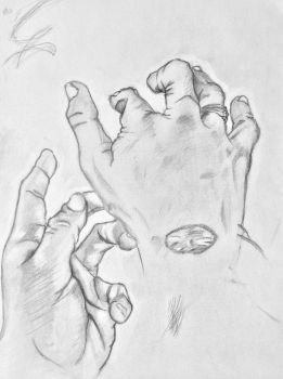 Hand Study by Fuaire