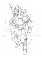 Soviet space marine by TugoDoomER