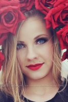 Flower girl by Estelle-Photographie